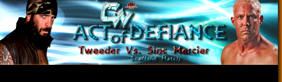 Sinc Mercier uses his final act with matchmaking power to set up the rematch of the millennium. It's Sinc vs. Tweeder one more time!